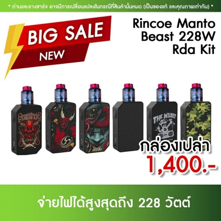 Rincoe Manto Beast 228W Box Kit